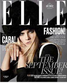 Cara Delevingne for Elle US September 2016