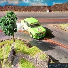 Simca 1000 Rally (1/32 scale) #scalextric #slot #slotcar #slottrack #slotcartrack #circuito #rennbahn  #maqueta #portable  #forsale  #scalemodel #modelismo #smoke #humo #fum#modelism #handmade #paint #airbrush #aerografo #landscaping #rally #cars #wrc #wec #paintwork #mountain #montaña #diy #doityourself #entrepreneur #custom #artisan #woodart #art #carart #maqueta #madera #handmade #hechoamano #woodwork #fetama #simca #simca1000 #ghymkana #toypic #handcrafted #drift #drifting #derrapar Slot Car Tracks, Slot Cars, Handmade Paint, Radio Control, Car Ins, Scale Models, Inktober, Wood Art, Woodworking