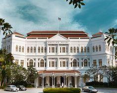 5 star Luxury Hotel Singapore - Raffles Singapore Hotel