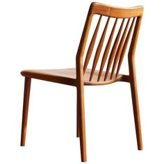 Solid Walnut Dining Chair with Spindle Back, by Jason Lewis Furniture For Sale at Walnut Dining Chairs, Dining Room Chairs, Dining Room Furniture, Lewis Furniture, Modern Furniture, Furniture Design, Dining Room Dresser, Mid Century Dining, Jason Lewis