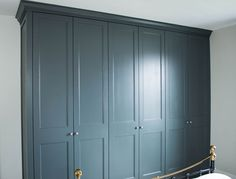 New Grey Painted Furniture Bedroom Farrow Ball Ideas Grey Painted Furniture, Fitted Bedroom Furniture, Fitted Bedrooms, Wardrobe Furniture, Bedroom Wardrobe, Wardrobe Doors, Colorful Furniture, Home Bedroom, Furniture Ideas