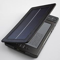 Solar lighted Kindle cover-Kindle touch