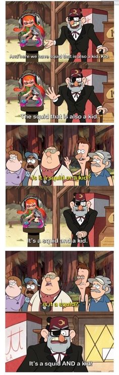 Gee, so many gravity falls crossovers