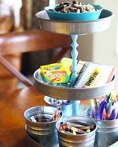 Shake My Blog | Un cake stand fait maison