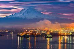 Mt. Rainier from Tacoma