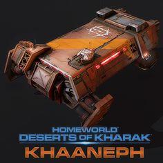 Homeworld: Deserts of Kharak KHAANEPH, Victor Kam on ArtStation at https://www.artstation.com/artwork/XDdDR