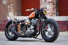Thunderbike Flying Pan   Harley-Davidson EL Panhead von 1951