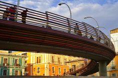 """""""Puente"""" ~ La Paz, Bolivia   © 2015 Skip Hunt   skiphuntphoto.com + kaleidoscopeofcolor.com"""