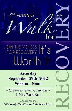 National Recovery Month - Walk for #Recovery
