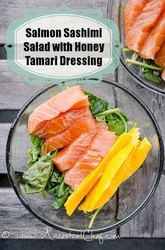 Paleo Sashimi Salad Recipe