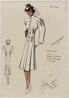 Fashion plates for women from 1938   1939 1dcf1e859
