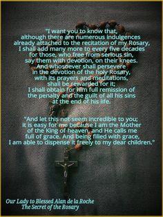 Hail Mary, full of grace!