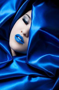 ~` blue `~