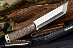 Cfk-Usa-ipak-Supervivencia-Personalizado-Hecho-A-Mano-D2-Tactical-Wakizashi-tanto-Bigfoot-Cuchillo