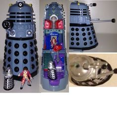 Dr Who Dalek  Mighty Max Playset Bluebird Toys