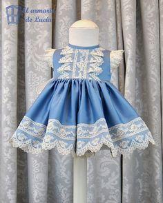 Vestido de Vuelo en sisa Romántica