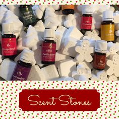 Scent Stones made with essential oils!