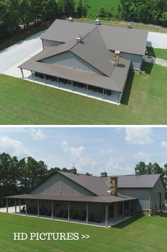 #MetalBuildingDesign Absolutely amazing metal building design, visit our site and read more about metal building homes, steel frame homes, interior, exterior $ roofing