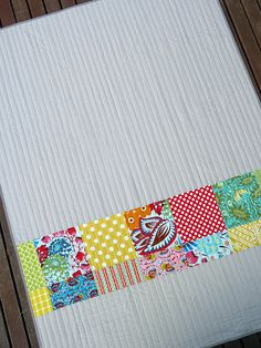 there is something i just love about parallel line quilting