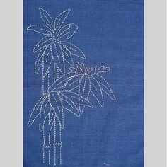 Sashiko Bamboo Pattern