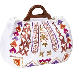 #BestPrice, #FabricHandbags, #Handbags, #RetailPrice, #Tote, #ToteMoroccanWhite, #White