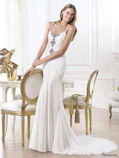 Pronovias 2014 Pre-Collection Wedding Dresses — Fashion Bridal Collection   Wedding Inspirasi