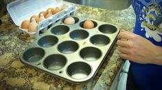 PERFECT HARD BOILED EGGS IN THE OVEN       (110) Facebook
