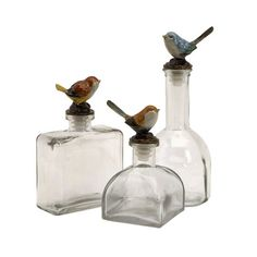 3-Piece Twitter Bottle Set