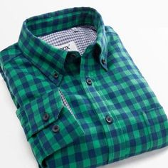 Fashion Fall Winter Men Casual Plaid Shirt Long Sleeve Slim Fit Flannel Man Clothes Men's Shirts
