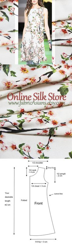 *NEW*Stretch Viscose Jersey Burnout Striped Floral Dress//Craft Fabric*FREE P/&P*