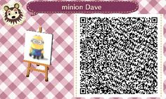 qr code minion animal crossing - Buscar con Google