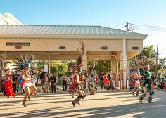Aztec dancers in flight. #visibleinlight