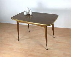 Vintage Tische - Coffeetable Couchtisch  MID CENTURY - ein Designerstück von Mid-Century-Frankfurt bei DaWanda