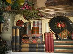Interiors Etc. Details: More Christmas Decorating