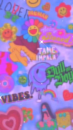 Retro Wallpaper Iphone, Hippie Wallpaper, Trippy Wallpaper, Iphone Wallpaper Tumblr Aesthetic, Iphone Background Wallpaper, Butterfly Wallpaper, Aesthetic Pastel Wallpaper, Kids Wallpaper, Galaxy Wallpaper
