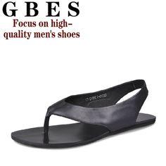 41a42c12bcd 2014 summer new Korean men s casual sandals