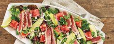 Grilled-Tuna-watermelon-Salad