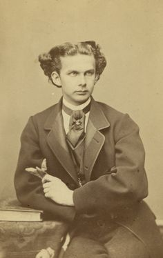 L'ancienne cour : King Ludwig II of Bavaria