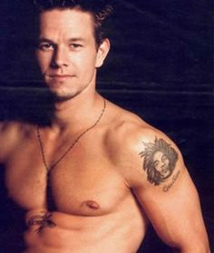 Something about him... Mark Wahlberg