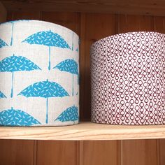 Hand Printed Fabric Lampshade Kit in Bird by sarahwaterhouse, £20.00