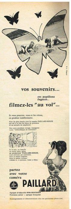 Publicité Advertising 1957 LE Projecteur Camera Paillard Bolex   eBay