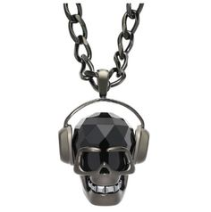 Swarovski Skull with headphones quiero el anillo! Skull Jewelry, Jewelry Art, Jewelry Accessories, Skull Necklace, Swarovski Outlet, Skull Headphones, Skull Pendant, Fantasy Jewelry, Jewelry Stores