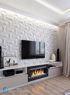 Discover thousands of images about Best Living Room Shelves Fireplace Tvs 27 Ideas Living Room Cabinets, Living Room Shelves, Living Room Decor, Kitchen Living, Dining Room, Fireplace Tv Wall, Living Room With Fireplace, Fireplace Ideas, Tv Wall Design
