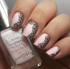 The Clockwise Nail Polish: Uber Chic UB 3-01 Stamping Plate Review