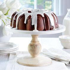 Triple-Chocolate Buttermilk Pound Cake   Learn how to make Triple-Chocolate Buttermilk Pound Cake . MyRecipes has 70,000+ tested recipes and videos to help you be a better cook