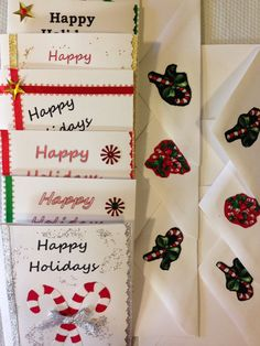 SALES  Handmade Holiday Christmas Greeting Cards by TMStreasures