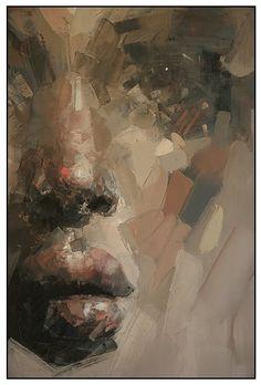 detail...workINprogress...170x130cm by Ryan