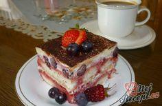 Tiramisu, Czech Recipes, Ethnic Recipes, French Toast, Cake Recipes, Cupcakes, Breakfast, Cooking, Food