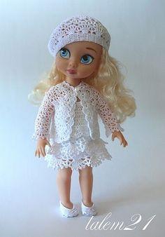 Cinderella Doll, Disney Princess Dolls, Disney Dolls, Crochet Doll Dress, Crochet Doll Clothes, Barbie Kids, Barbie Dolls, Disney Animators Collection Dolls, Disney Animator Doll