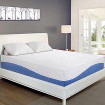 Granrest 10 Inch Aquarius Gel Memory Foam Mattress In A Box Queen Walmart Com In 2020 Foam Mattress Bed Foam Mattress Mattress